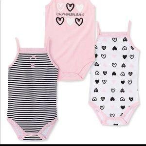 Baby girls bodysuits set 3-6 months